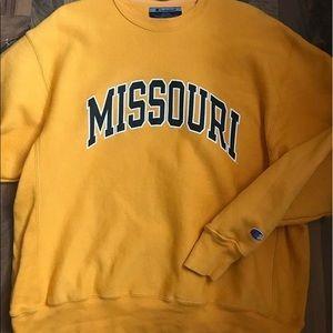 Vintage Champion Missouri Crewneck